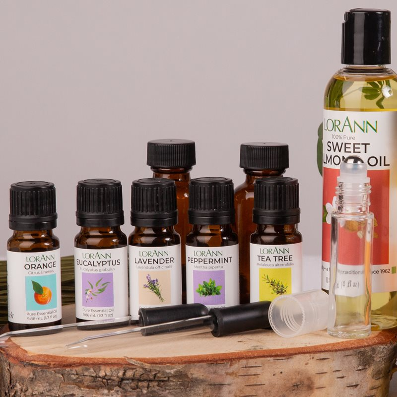 Aromatherapy and Spa Crafting Kits