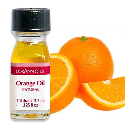 Orange Oil, Natural   1 dram