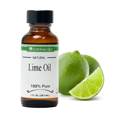 Lime Oil, Natural  1 oz.