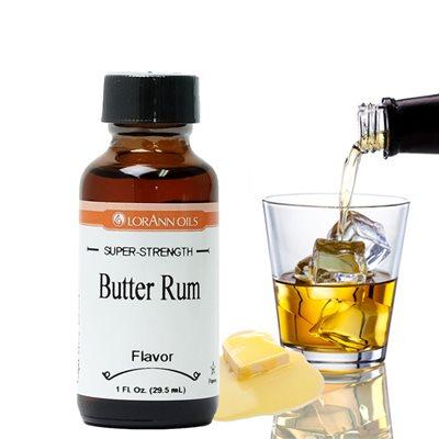 Butter Rum Flavor  1  oz.