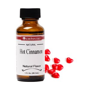 Cinnamon Flavor (Hot), Natural