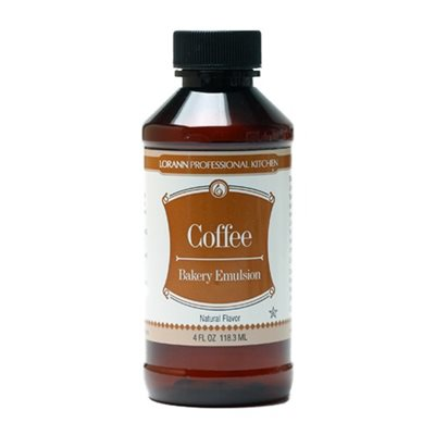Coffee (Natural), Bakery Emulsion 4  oz.