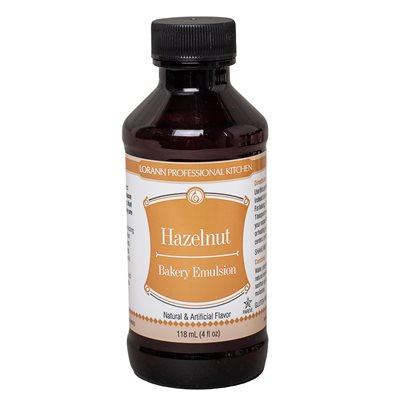 Hazelnut, Bakery Emulsion 4 oz.