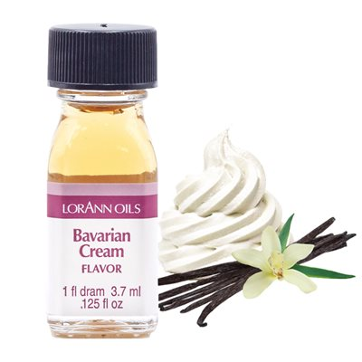 Bavarian Cream Flavor (Vanilla) 1 dram