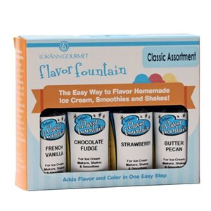 4-Pack Flavor Fountain, Classic Assortment