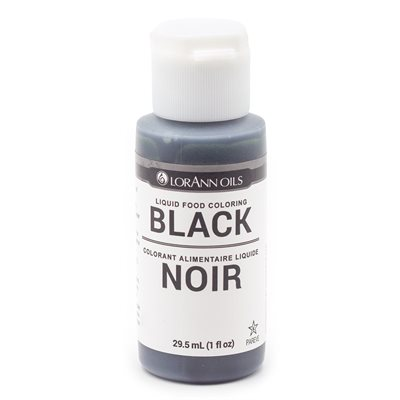 Black Liquid Food Color 1 oz.