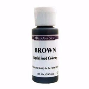 Brown Liquid Food Color
