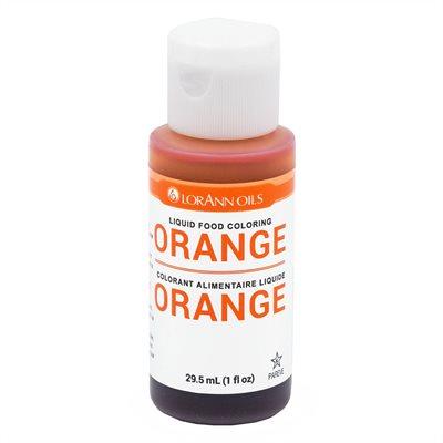 Orange Liquid Food Color 1 oz.