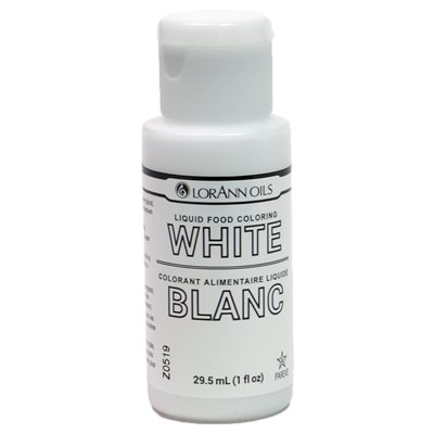 White Liquid Food Coloring Lorann Oils