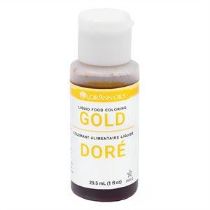 Gold Liquid Food Color