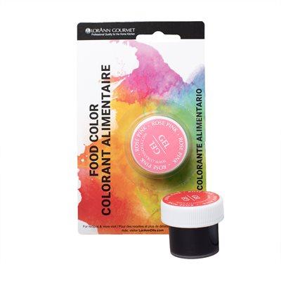 Rose Pink Gel Food Color 1 / 2 oz.