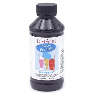Blueberry, Flavor Fountain