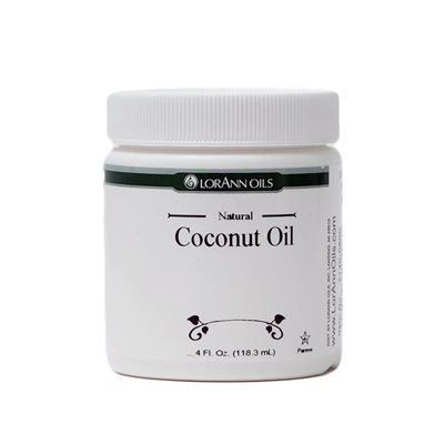 Coconut Oil, Natural (Flavorless) 4 oz.