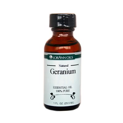Geranium Oil, Natural 1 oz.