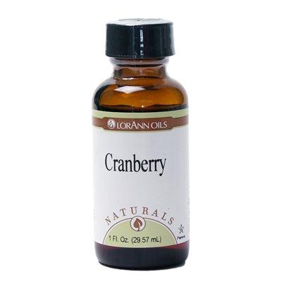 Cranberry, Natural 1  oz.
