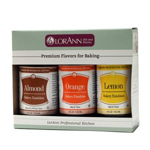 Variety Pack, Almond & Orange & Lemon Emulsions