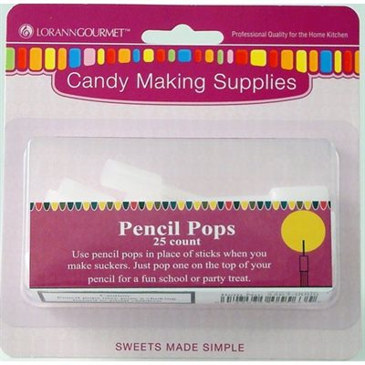Pencil Pops 25 pack
