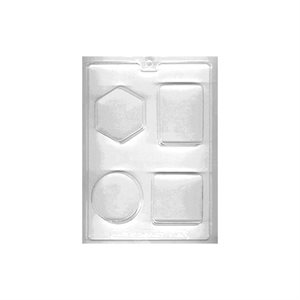 Geometric Shapes Soap / Bath Fizzie Mold