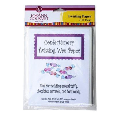 Twisting Wax Paper (100 pack)