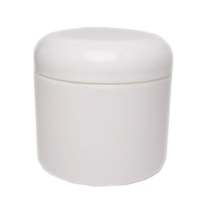 6 oz. Plastic Cosmetic Jars (12 pack)