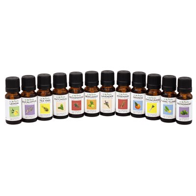Collection of Essential Oils, 1 / 3 ounce