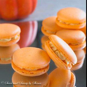 Pumpkin French Macarons