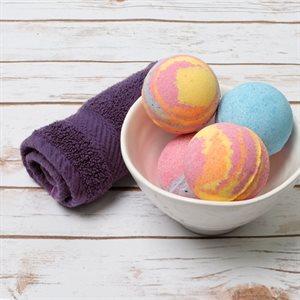 Tie-Dye Bath Bombs