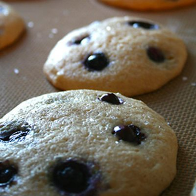 Blueberry Cream Cheese Muffin Cookies