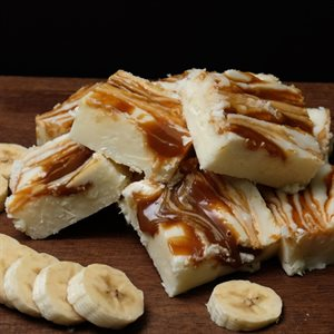 Banana Caramel Fudge