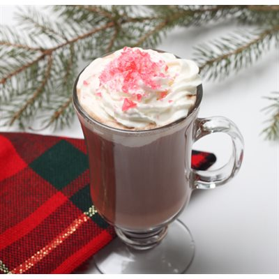 Candy Kissed Hot Cocoa