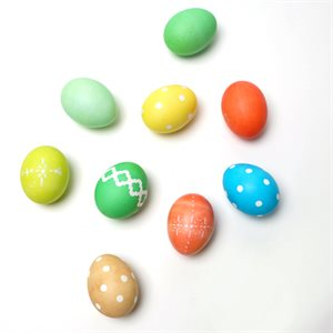 Easter Eggs - Coloring Basics
