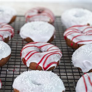 Cherry Delicious Donuts