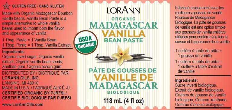 Madagascar Vanilla Bean Paste | LorAnn Oils