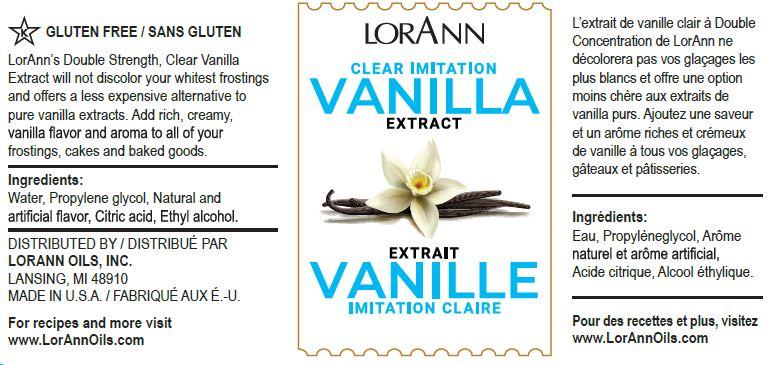 Clear Vanilla Extract | LorAnn Oils