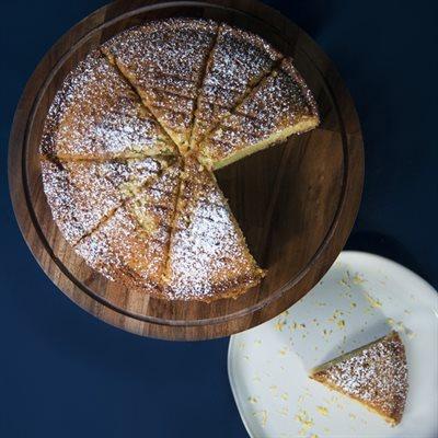 Lemon Zest Olive Oil Cake