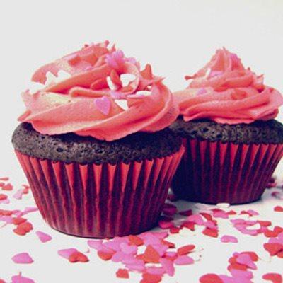 "Choco-Cherry ""Chizzler"" Cupcakes"
