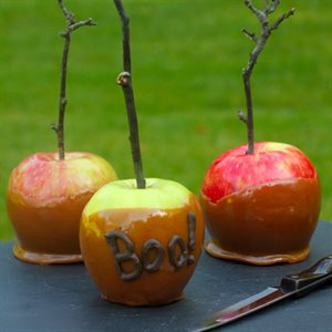 Maple Caramel Apples