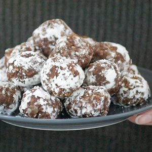 Walnut Bourbon Balls